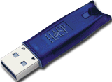 The HASP USB key used to unlock X-Plane for professional use
