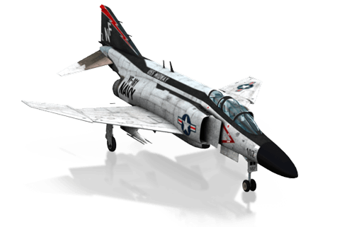 The F-4 Phantom II in X-Plane 10 Mobile for iPhone & iPad